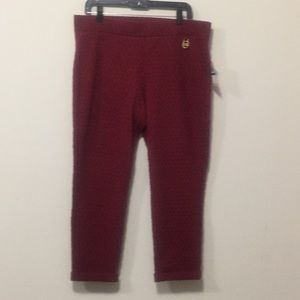 Michael Kors pull on pants-Size XL